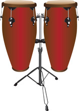 Set Of Conga  Or Tumbadora Drums