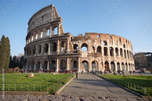 Fotobehang Rome Roma Colosseo