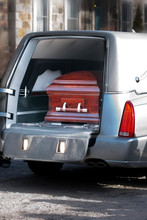 Coffin In A Hearse