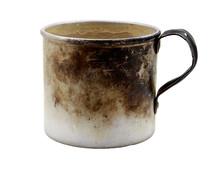 Old Aluminum Mug