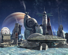 Jupiter Moon Colony