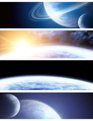 Fototapeta kosmiczna kolekcja