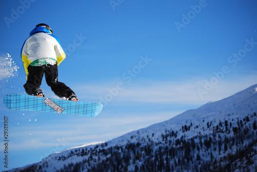 jump - snowpark Tapéta, Fotótapéta