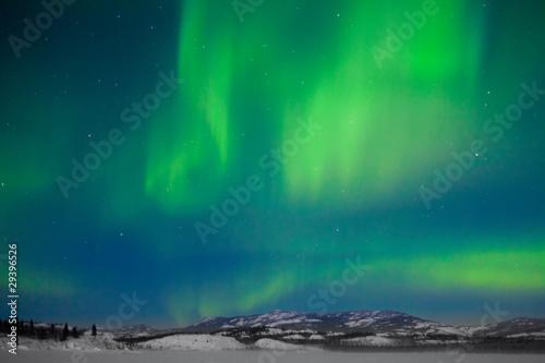 Photo Stands Northern lights Northern Lights (Aurora borealis)