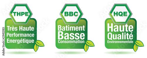 Photo  BATIMENT BASSE CONSOMMATION - THPE BBC HQE