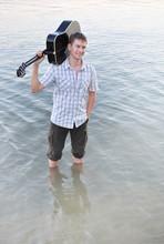 Guitarist Water