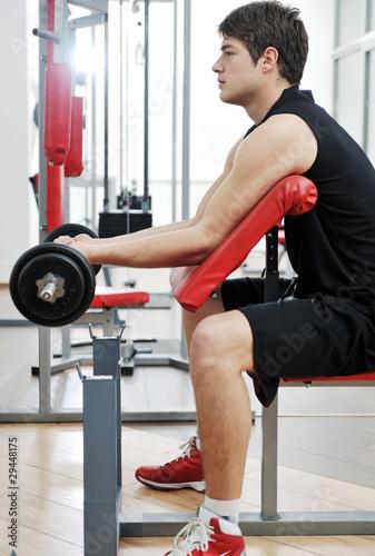 Fotobehang Fitness man fitness workout