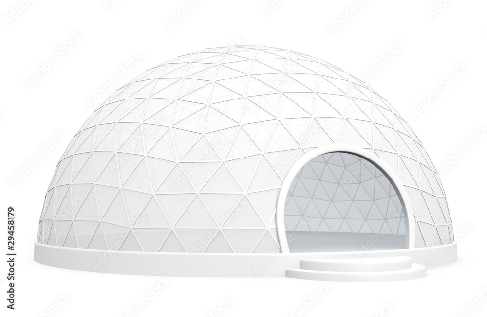 Fototapety, obrazy: Exhibition dome tent