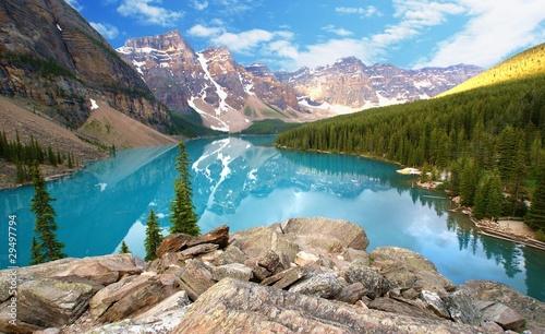 Valokuva  moraine lake