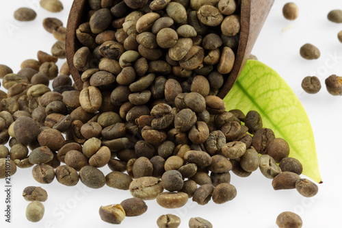 Canvas Prints Coffee beans café en grains non-torréfié