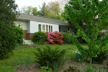 1950s House Rambler Suburban Maryland