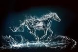 Fototapeta Fototapety ze zwierzętami  - water horse 3