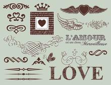 Design Elements - St. Valentine's Day
