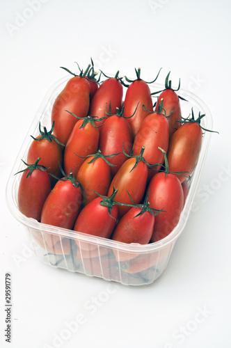 Photo  Pomodori piccadilly in vaschetta