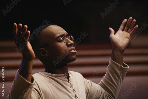 Photo Man Worshipping