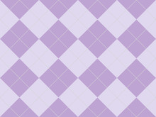 Seamless Argyle Pattern In Pur...