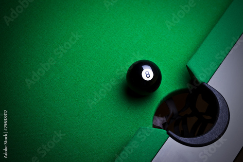 Foto Billiard balls - pool