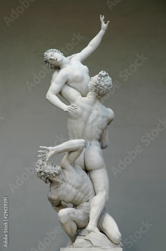 Cuadros en Lienzo The rape of the Sabine woman