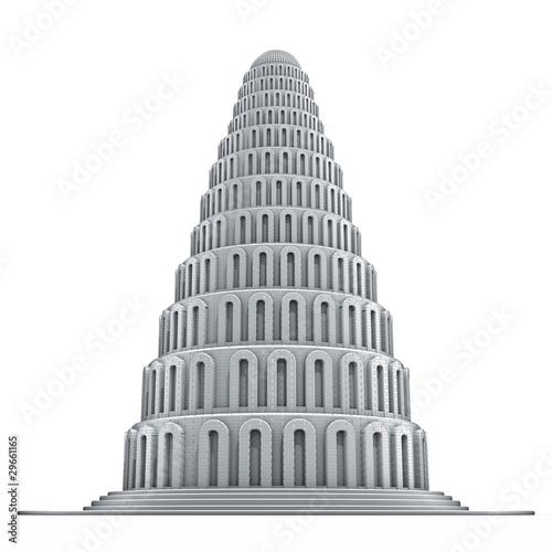 Obraz na plátně Torre Babele