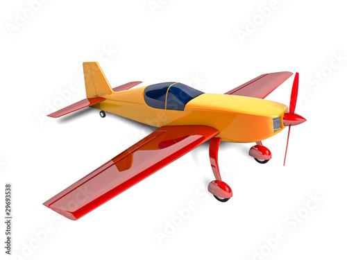 Fotobehang Vliegtuigen, ballon sport airplane