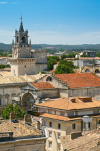View On Medieval Town Avignon, France