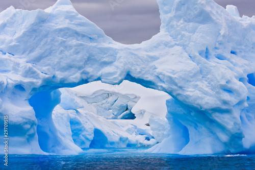 Poster Glaciers Large Antarctic iceberg