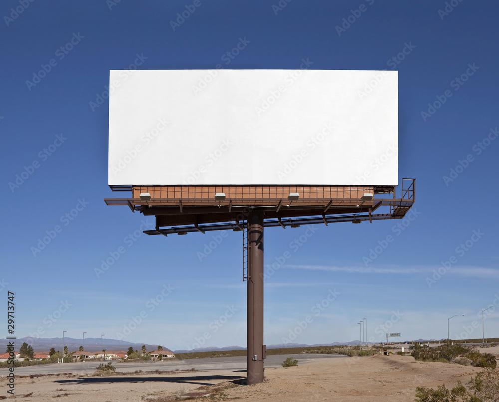 Fototapety, obrazy: Large Blank Billboard