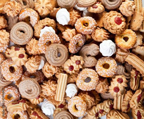 Keuken foto achterwand Koekjes Cookies