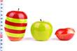 red fresh apple