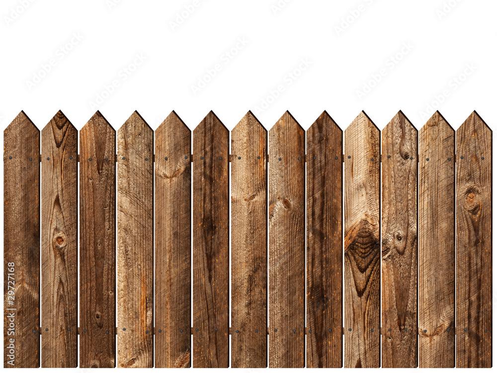 Fototapeta wooden fence