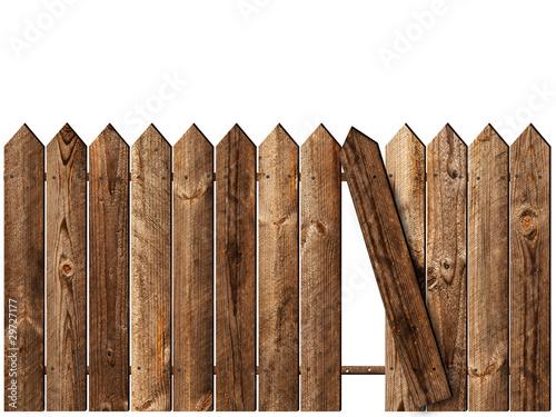 Fotografie, Obraz wooden fence