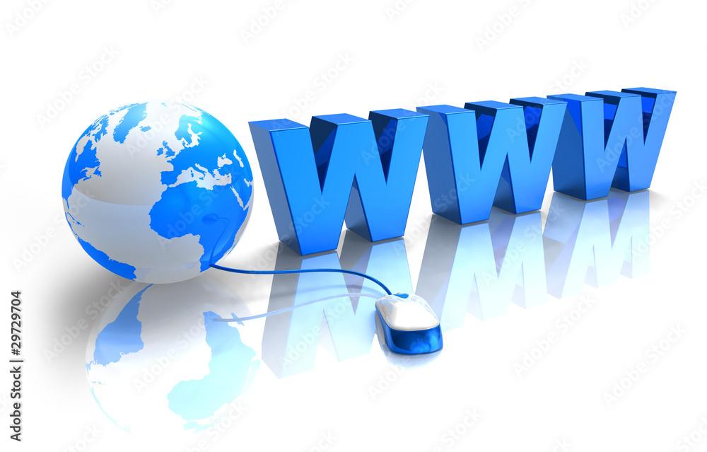 Fototapeta Internet concept