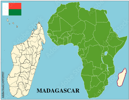 Madagascar emblem map africa world business success ...