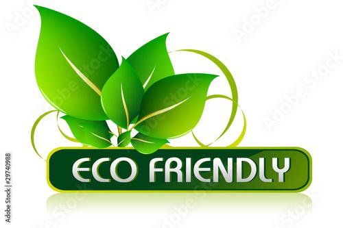 Fotografie, Obraz  Eco Friendly Icon
