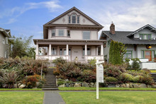 Victorian House  With Large Co...