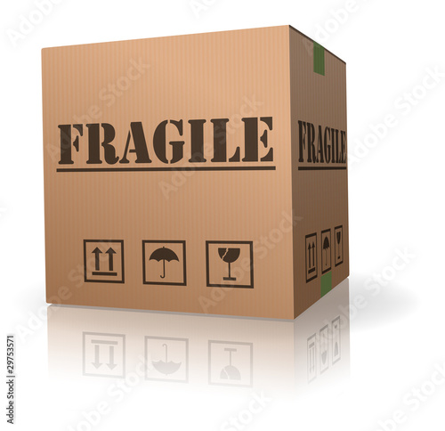 fragile content cardboard box handle with care - Buy this