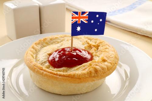 Photo Aussie Meat Pie