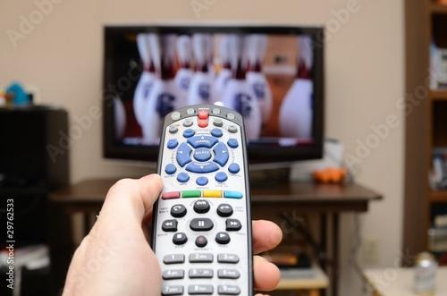 TV Remote Control Tablou Canvas