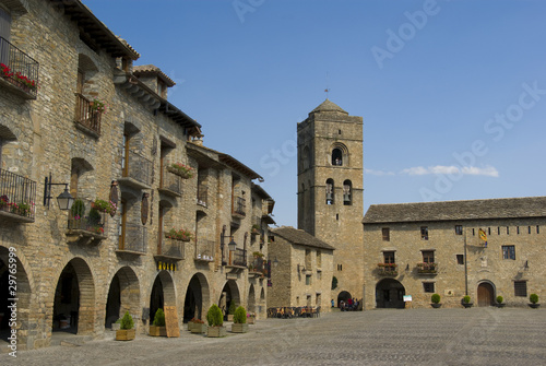 Ainsa,medieval village.(Huesca,Spain)