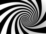 Fototapeta Do przedpokoju - gestreite spirale