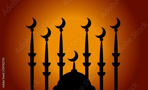 Fotografia, Obraz Moschee