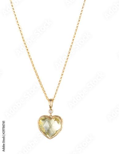 Foto  heart pendant