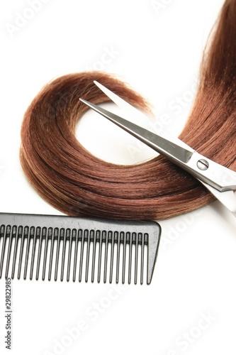 Leinwand Poster Outils de coiffure 2