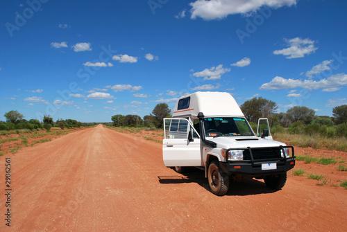 Foto op Canvas Australië 4wd travel in Australia