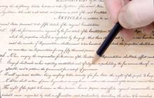 Editing First Amendment Pencil US Constitution