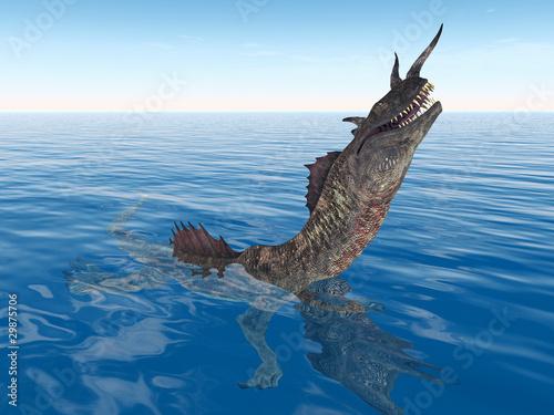 Poster Draken The Monster of the Sea