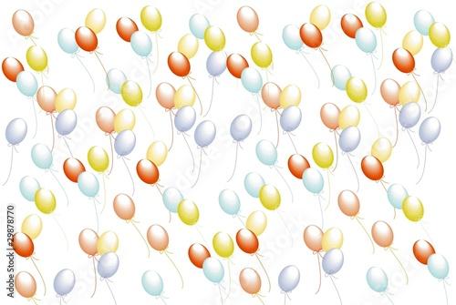 Foto-Lamellen (Lamellen ohne Schiene) - Luftballons (von tinadefortunata)