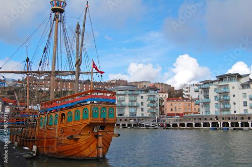 Canvas Prints Ship Matthew in Bristol