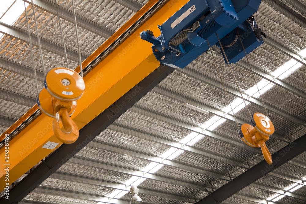 Fototapety, obrazy: Overhead Crane