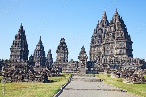 Aluminium Prints Indonesia Hindu temple Prambanan